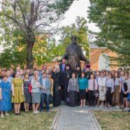 Молодежный актив храма посетил начало учебного года в Московском православном институте святого Иоанна Богослова (РПУ)