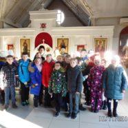 В храме священномученика Серафима, митрополита Петроградского прошла экскурсия-квест, для школьников 4 классов.