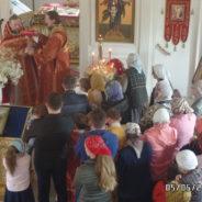 Богослужение в храме в Неделю вторую по Пасхе, апостола Фомы. Антипасха. Раздача артоса.