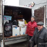 Приходом храма отправлена гуманитарная помощь нуждающимся