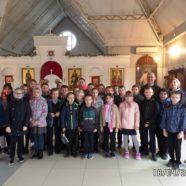 Экскурсия в храм учеников школы 1355