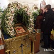 В праздник Рождества Христова в храме священномученика Серафима были совершены Рождественские Богослужения