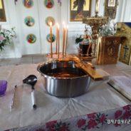 26 августа в 17-00 в храме будет совершено Таинство соборования.